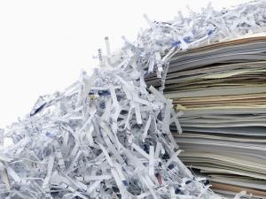 انواع مختلف کاغذهای باطله غیر قابل بازیافت